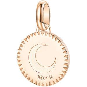 Brosway Růžově zlacený ocelový přívěsek Moon Très Jolie BTJM184
