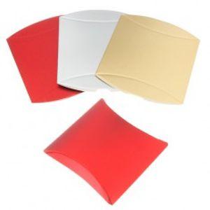 Dárková krabička z papíru, lesklý povrch, různé barevné odstíny Z41.13/15