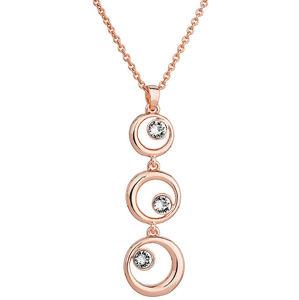 Evolution Group Elegantní bronzový náhrdelník Shine Luxus 52014.1