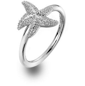 Hot Diamonds Luxusní stříbrný prsten s pravým diamantem Daisy DR213 54 mm