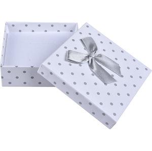 JK Box Puntíkatá krabička na soupravu šperků KK-5/A1