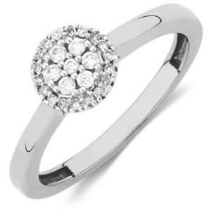 JVD Stříbrný prsten s krystaly SVLR0238XH2BI 52 mm