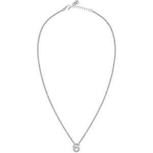 """La Petite Story Ocelový náhrdelník """"6"""" s krystaly LPS10AQK06"""