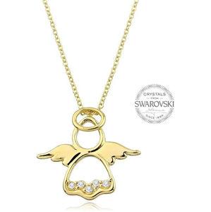 Levien pozlacený náhrdelník Andělíček LE0034