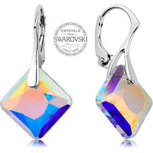 Levien náušnice s duhovými krystaly Princess LE0119