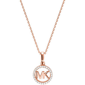 Michael Kors Stříbrný náhrdelník s třpytivým přívěskem MKC1108AN791