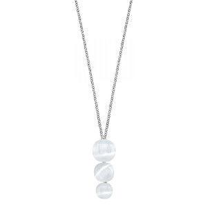 Morellato Krásný náhrdelník zdobený kočičím okem SAKK22 (řetízek, přívěsek)
