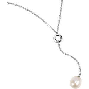 Morellato Ocelový náhrdelník s pravou perlou Oriente SARI09