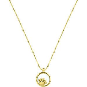 Morellato Pozlacený náhrdelník s elementem Scrigno D`Amore SAMB35 (řetízek, přívěsek)