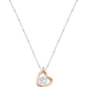 Morellato Stříbrný náhrdelník s elementem Scrigno D`Amore SAMB32 (řetízek, přívěsek)