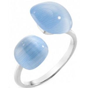 Morellato Stříbrný prsten zdobený kočičím okem SAKK16 52 mm