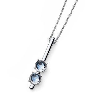 Oliver Weber Náhrdelník s krystaly Rimmed 11950R