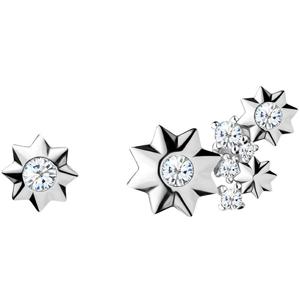 Preciosa Asymetrické hvězdičkové náušnice Orion 5274 00L