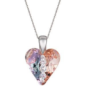 Preciosa Stříbrný náhrdelník Love Heart 6873 70 (řetízek, přívěsek)