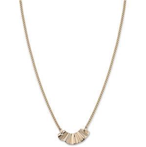 Rosefield Pozlacený ocelový náhrdelník Liquid BLWNG-J201