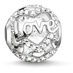 Thomas Sabo Stříbrný korálek Láska K0177-051-14