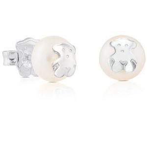 Tous Náušnice z pravých perel s medvídkem 211140420
