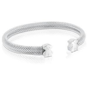 Tous Pevný stříbrný náramek s medvídky 015921500 - stříbro 925/1000 8 g + obecný kov 2 g S