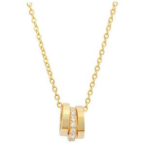 Troli Pozlacený náhrdelník s přívěskem 15 gold TO1880
