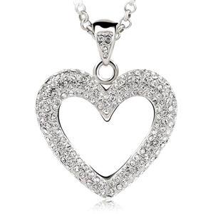 Vicca® Náhrdelník Big Heart OI_140240_crystal
